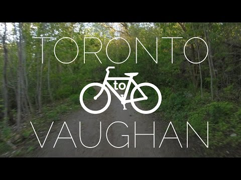Cycling from Downtown(ish) Toronto to Vaughan
