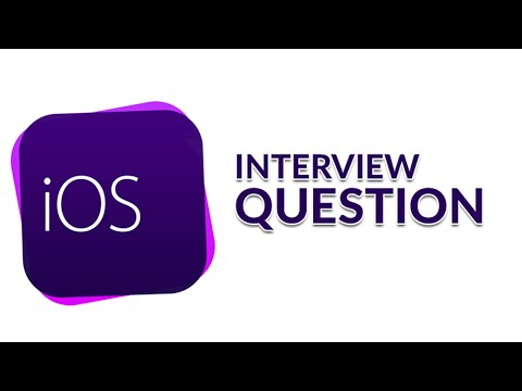 iOS Interview Questions in Swift Part 1