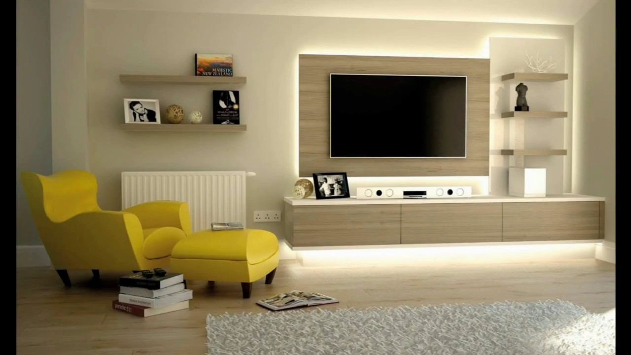fantastic TV cabinets designs for modern living room ...