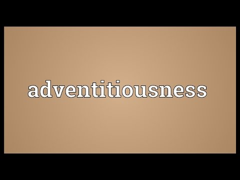 Header of adventitiousness