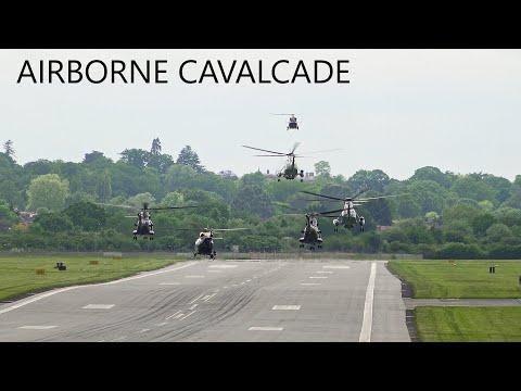 Joe Biden's helicopter entourage in London