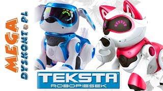 Teksta Micro Pets • Robopiesek i robokotek • interaktywne zabawki
