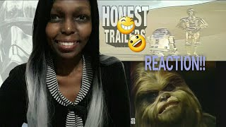 Reaction to Honest Trailers Star Wars Spinoffs (Holiday Special & More!)