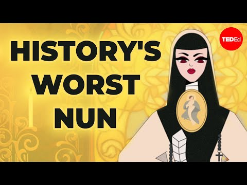 "Video image: History's ""worst"" nun - Theresa A. Yugar"