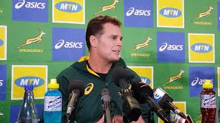"""""""Players must think like coaches"""" - Rassie"""