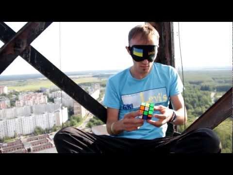 Блайнд на вышке в Электростали / Blindfolded on a tower of Elektrostal
