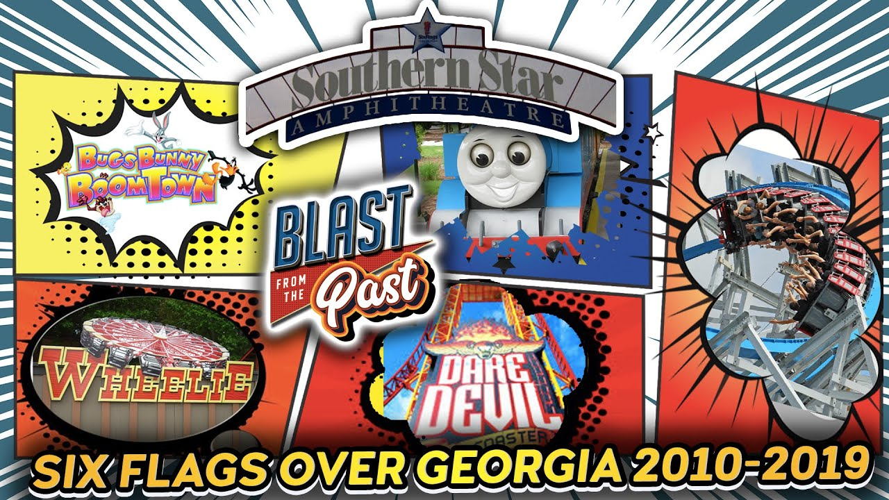 Six Flags Over Georgia 2010-2019 Decade in Review! | Blast From the Past!