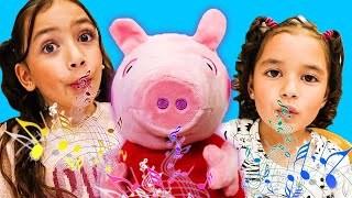 New Peppa Pig Toys by Jazwares: Peppa Pig's Magic Parade, Glamping Tent, and Whistle N' Oink!