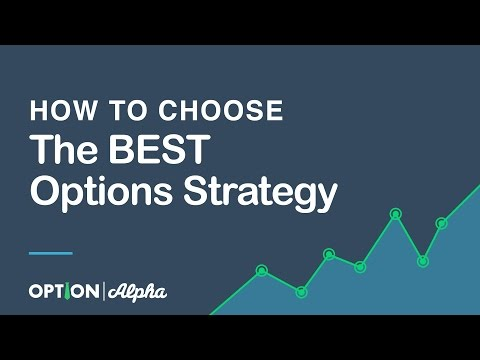 How to Choose the BEST Options Strategy