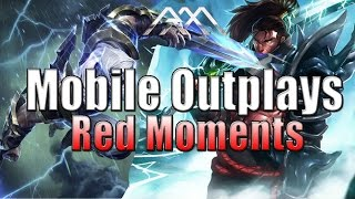 Mobile Outplays - Red Moments - League of Legends