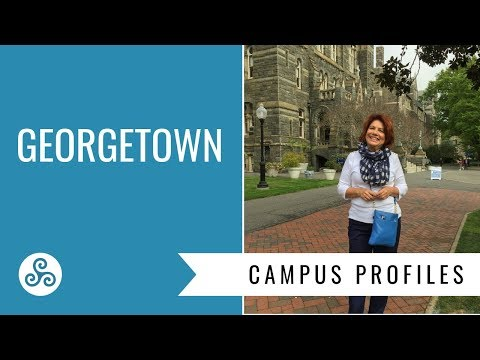 Georgetown University  - overview by American College Strategies after a campus tour