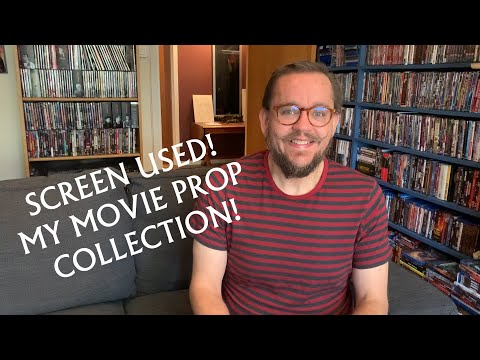 Screen Used! My Movie Prop Collection!