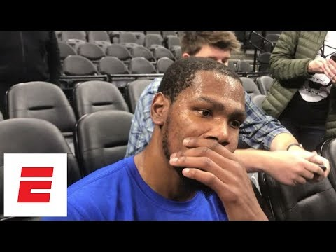 Kevin Durant at loss for words after hearing about death of Gregg Popovich's wife Erin | ESPN