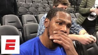 Kevin Durant at loss for words after hearing about death of Gregg Popovich s wife Erin ESPN