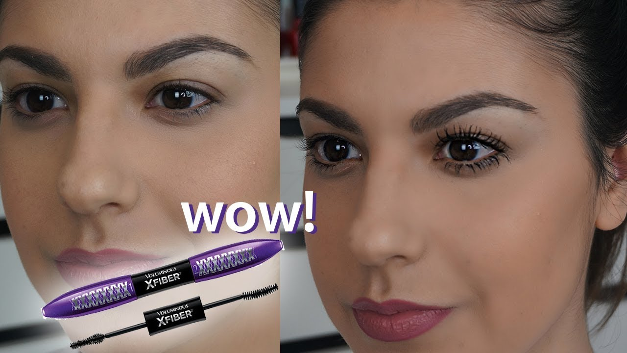 l 39 oreal voluminous x fiber mascara review and demo youtube. Black Bedroom Furniture Sets. Home Design Ideas