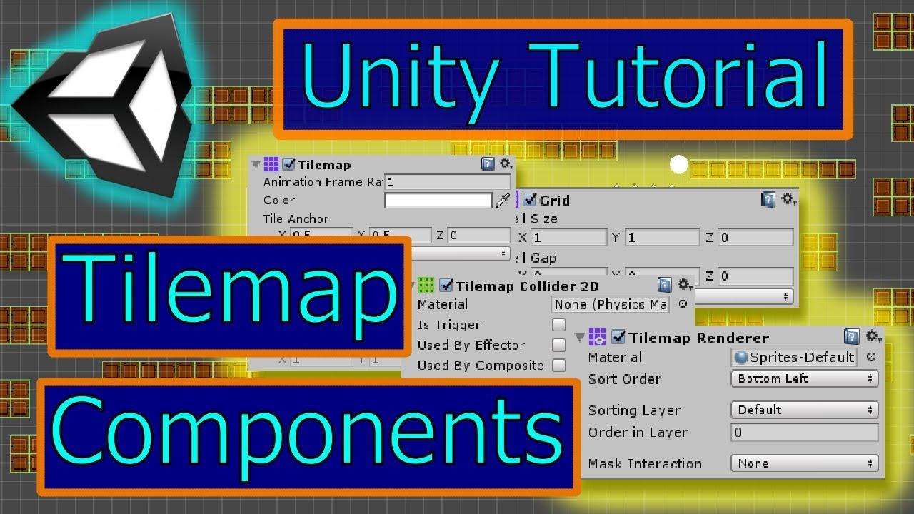 Tilemap, Tilemap Renderer, Grid and Collision | Unity Tilemap Series Part 3  | Unity Tutorial