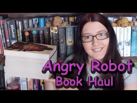 Angry Robot Book Haul [2015]