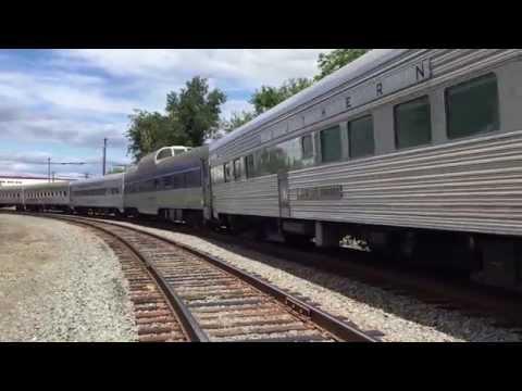 Norfolk Southern Steam Special 956 Crossing Oak Street - Pittston Pa