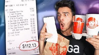 Download Letting The Person in Front of Me DECIDE What I Eat for 24 HOURS! (Impossible Food Challenge) Mp3 and Videos