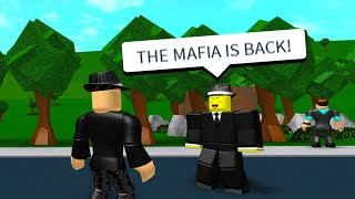 THE MAFIA IS BACK! (Roblox Bloxburg Roleplay)