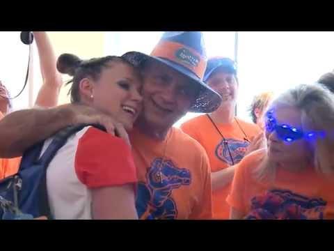Florida Gymnastics: SEC Hotel Sendoff 3-21-15