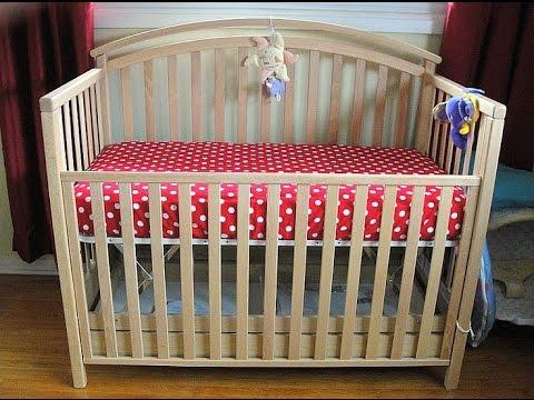 Кроватка детская своими руками видео