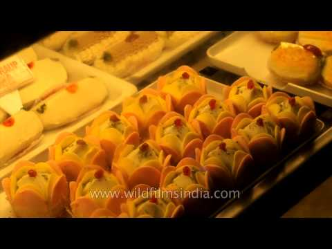 Sweet shop in Johari Bazaar: Jaipur, Rajasthan