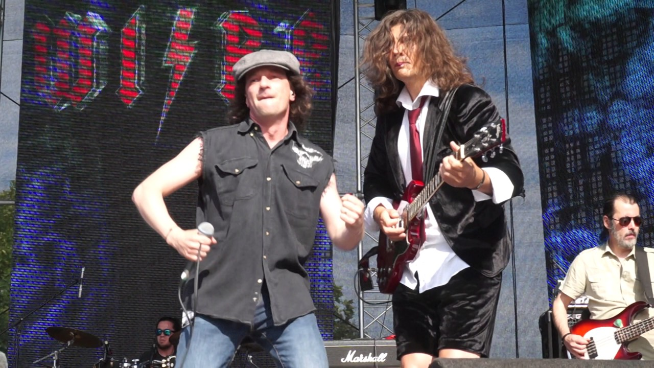 Wire - AC/DC tribute - live @ Heyday Music Festival - YouTube