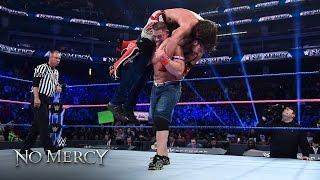 AJ Styles vs. John Cena vs. Dean Ambrose – WWE World Titel Triple Threat Match: WWE No Mercy 2016