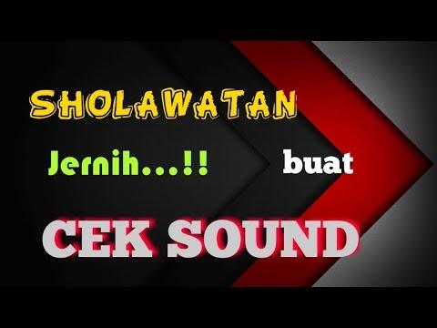 Lagu Sholawat Dangdut Kalem Paling Enak Buat Cek Sound