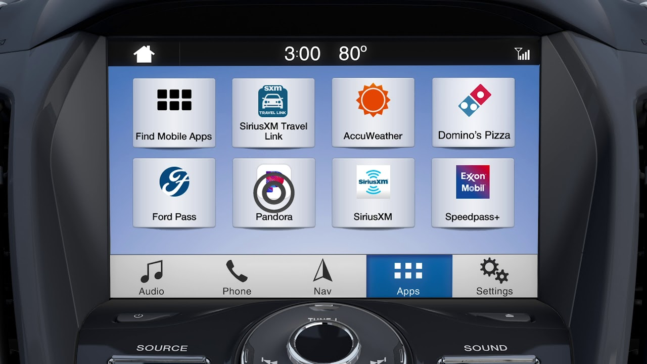 How To Use Ford Sync 3 Applink Youtube