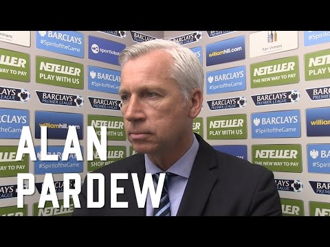 Alan Pardew post Man Utd Interview