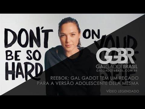 Reebok: Gal Gadot tem um recado para a versão adolescente dela mesma [HD] (Legendado)