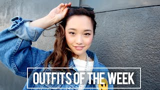 Outfits of the Week Thumbnail