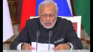 PM Modi addresses Joint Press Statement with President Putin in Moscow, Russia