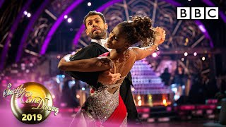 THEY GOT 40! Kelvin & Oti Quickstep to The Lady is a Tramp - Week 12 Semi-Final | BBC Strictly 2019
