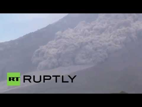 Indonesia: Mount Sinabung erupts with fury, thousands evacuated