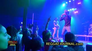 Romain Virgo - Beautiful / Love Sponge / Soul Provider 2015-03-05. P60, Amstelveen, NL.