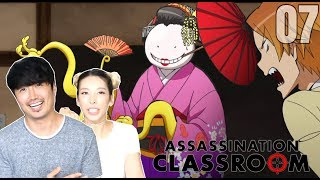 Geisha Sensei!! ASSASSINATION CLASSROOM EPISODE 7 REACTION!