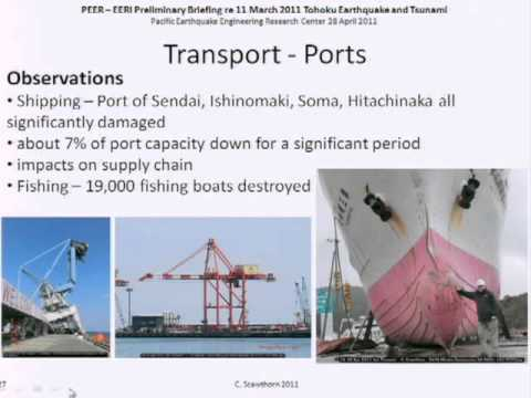 (5/7) Recon Briefing on East Japan Earthquake of 3/11/2011:Lifelines (Scawthorn)