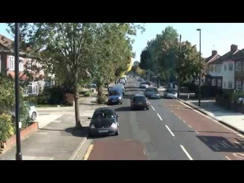 ROUTE 90 LONDON BUS RIDE