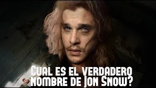 ¿Cuál es el Verdadero Nombre de Jon Snow?