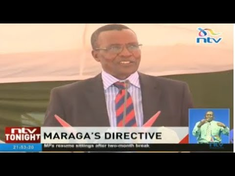 Maraga asks magistrates to speed up how they handle court cases