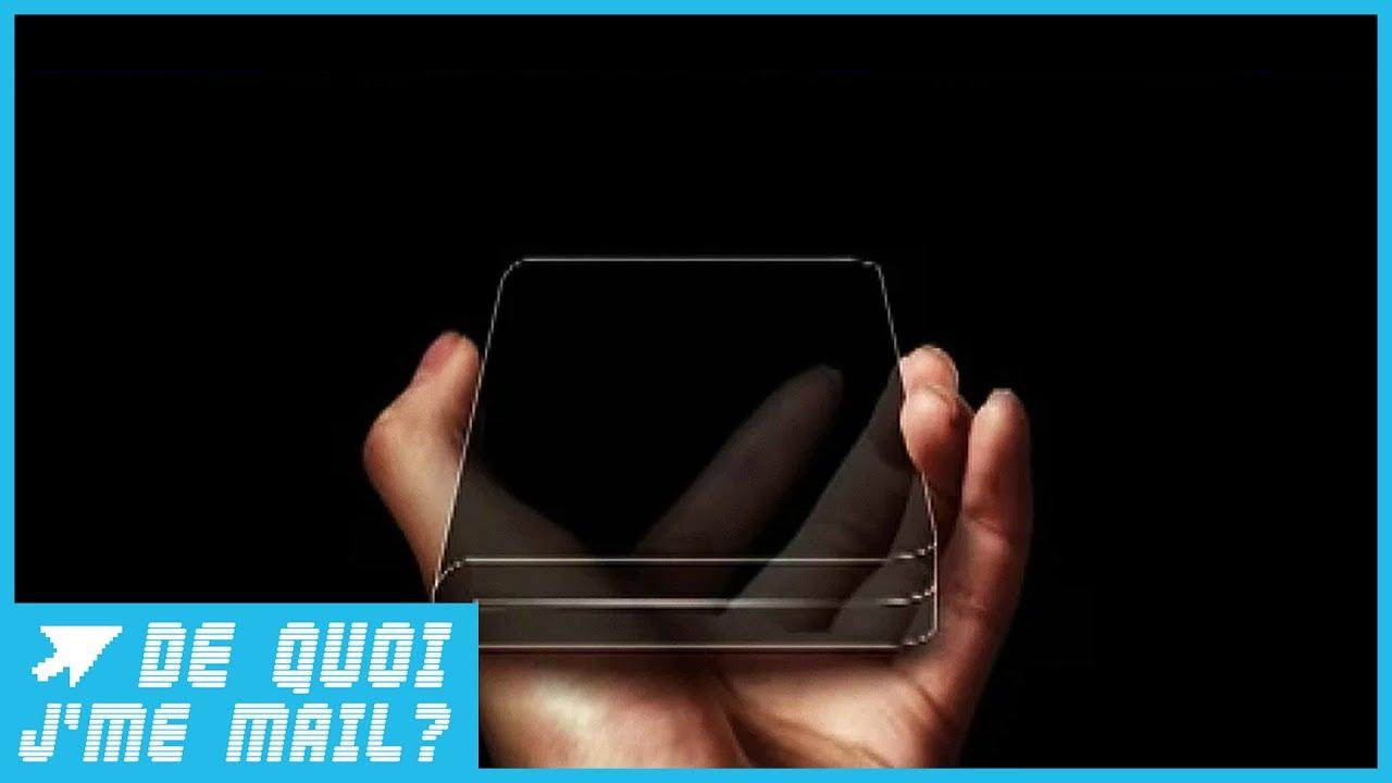 Samsung dégaine son smartphone à écran pliable   DQJMM (1/2)