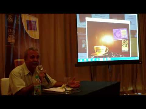 6 / 10   India International Coffee Festival 2014 press briefing   Ramesh P  Rajah