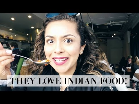 My Friends Love Indian Food! - Vlog 54 - TrinaDuhra