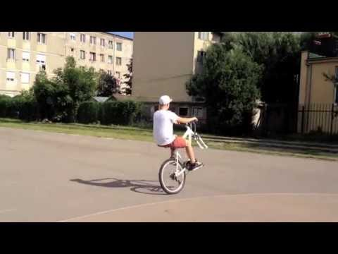 Wheelie without front wheel - Bike Zone Alesd