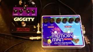 Deluxe Memory Man Tap Tempo Voodoo Lab Giggity in Effects Loop