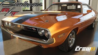 The Crew 2 - 70' Dodge Challenger R/T - Customization, Top Speed, Review