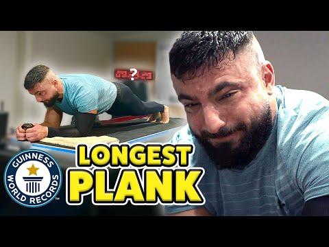 New Longest Plank Ever - Guinness World Records